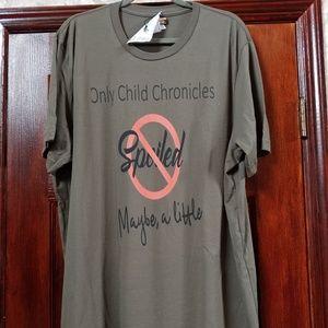 NWOT Men's only child chronicles t-shirt